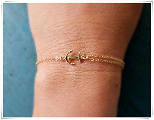 gold-anchor-bracelet-anchor-semplice-braccialetto