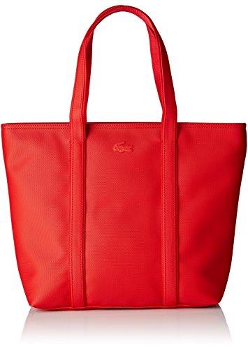 Lacoste NF2043WM, Borsa a Tracolla Donna, 29 x 14 x 30 cm RED ALTO RISCHIO (High Risk Red)