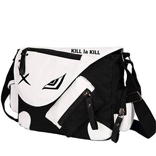 Yoyoshome giapponese anime Cosplay zaino Zaino messenger bag borsa a tracolla nero Fullmetal Alchemist Kill la Kill