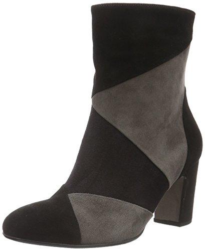 Gabor Shoes 55.881 Stivali Mezza Gonna Donna Multicolore (nero / Pacifico / Tin 17)