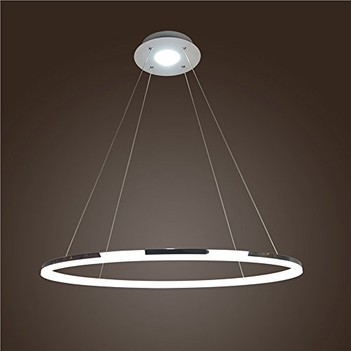 Homelava Lámpara Colgante LED iluminación Diámetro 60 cm para Salón, Comedor, Habitaciones