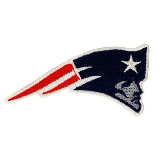 New England Patriots Logo Embroidered Iron Patches-Toppe da applicare con ferro da stiro