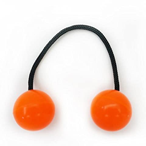 Transer® Spielzeug für kids- Finger Yoyo Ball–Anti-Stress-Bundle Control Rolle Spiel Spielzeug Orange