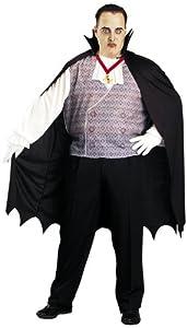 César - Disfraz de Drácula para hombre, talla 4-5 años (H124-001)