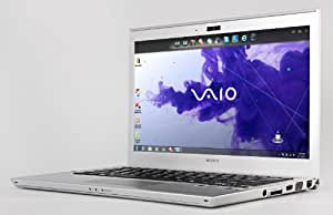 "Sony Vaio Pro SVP1321A4ES Ultrabook, Intel Core i5, 4GB RAM, 128GB SSD, 13.3"" Touch Screen, Silver"