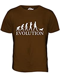 Teckel Evolution of Man - camiseta hombre Camiseta Top
