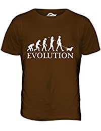 Teckel Evolution of Man - camiseta hombre Camiseta Top