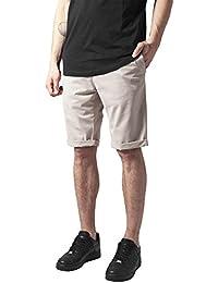 Urban Classics Herren Shorts Stretch Turnup Chino Shorts