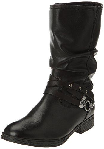 Gabor 93.734 27, Boots femme Noir (Foulard Calf Schwarz)