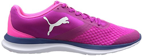 Puma Flext1, Sneakers Basses Mixte Adulte, 40.5 EU Rose (Ultra Magenta-puma White 06)