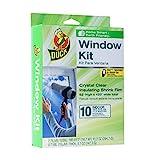 Duck Brand 281506 Indoor 10-Window Shrink Film Insulator Kit, 62-Inch By 420-Inch
