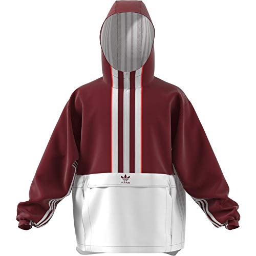 finest selection c9c1c 3cd88 adidas Auth Anorak, Giacca Uomo, Noble Maroon, M