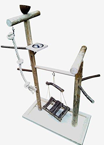 Kletterbaum für Vögel mit Vogelspielzeug , Papageienfreisitz 205