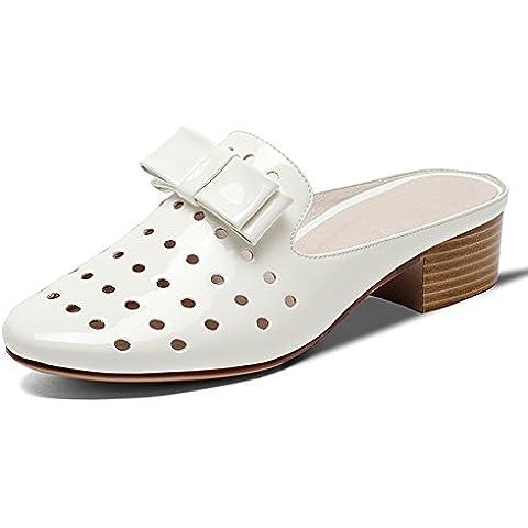 LYF KIU scarpe di cuoio piatto-taglio/ una piscina all