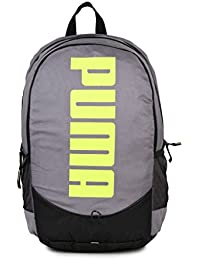Puma Gray Violet and Fluo Pink Laptop Backpack (7593301)