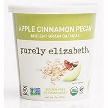 Purely Elizabeth - Pacana antigua orgánica del cinamomo de Apple de la harina de avena del grano - 2 oz.