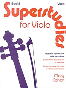 Superstudies: Bk. 1: (Solo Viola) (Faber Edition: Superstudies)