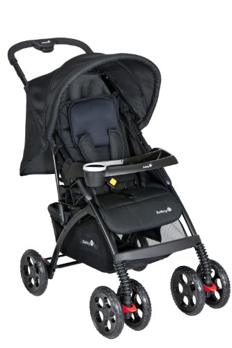 Safety 1st 11007640 - Trendideal Liegebuggy, Buggy - Travelsystem, full black