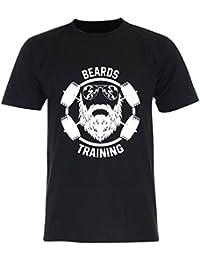 PALLAS Unisex's Beard Training Funny T-Shirt