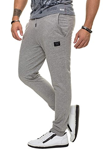 Jack   Jones Herren Trainingshose Sporthose Jogginghose Sweat Pants (XL,  Light Grey Melange) 3c66d02f35