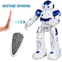 ANTAPRCIS Gesture Sensing Robot Toy Kit, RC Programmable Robot for Kids