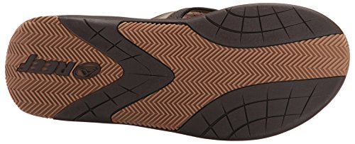 Reef Flex, Tongs homme Marron (Dark Brown/Tan)