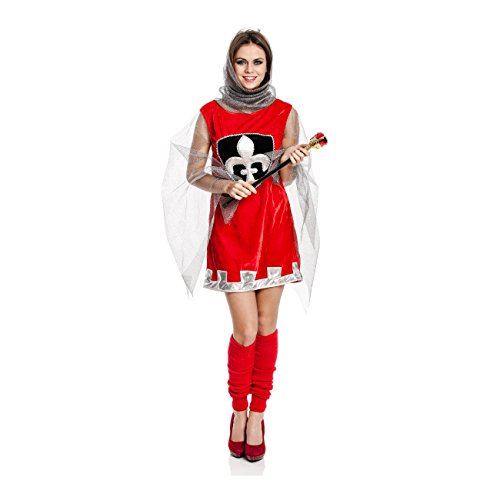 faschingskostuem ritter Kostümplanet Ritter-Kostüm für Damen Mittelalter-Kostüm Frauen sexy Kostüme Damen Faschings-Kostüm Größe 40/42