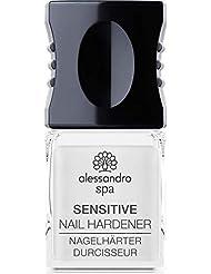 alessandro Spa Sensitive Nail Hardener - Formaldehydfreier Nagelhärter, stärkt brüchige und dünne Nägel, 10 ml