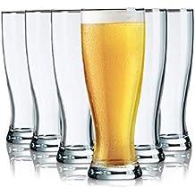 Tivoli Vasos de Cerveza Ghent - 575 ML - Set de 6- Vasos Apto para