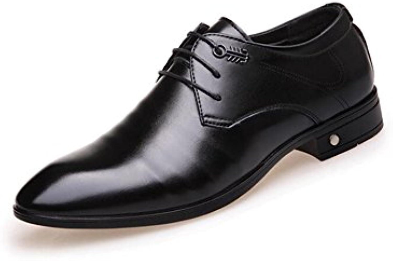 2018 Herren Lederschuhe Herrenschuhe PU (Polyurethan) Frühling/Herbst Formelle Schuhe Oxfords Wanderschuhe Schwarz