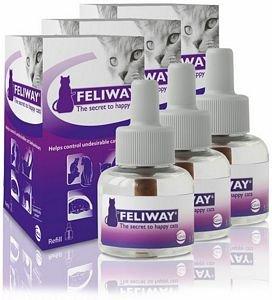 Artikelbild: Feliway Spray Nachfüllpackung, 144 ml, 3er-Packung (144ml x2)