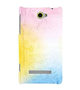 EPICCASE rainbow colors Mobile Back Case Cover For HTC One Max (Designer Case)