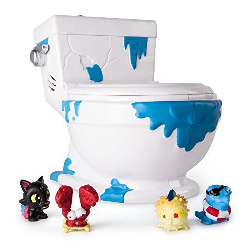 Flush Force 6039853 Flush Force-6039853-Collect-a-Bowl, Sammelklo, für Figurensammlung, 4 Exklusive Figuren Collect a Bowl, Multicolour -