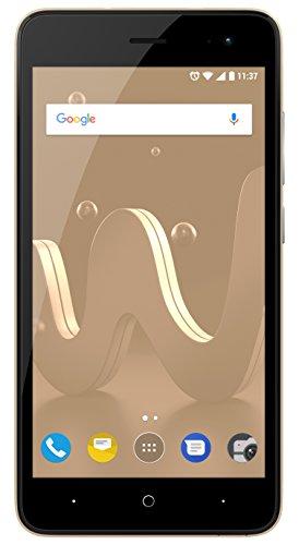 Wiko Jerry 2 12,7 cm (5 Zoll) Smartphone (5MP Kamera, 8 GB internen Speicher, 1GB RAM, Dual-SIM, Android Nougat) gold