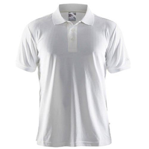 Craft Herren Polo Pique Classic Polohemd white