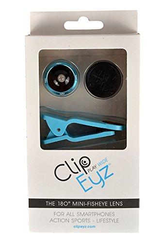 Preisvergleich Produktbild ClipEyz Fisheye Linse Smartphone Accessoire, Blau, One Size, 970974