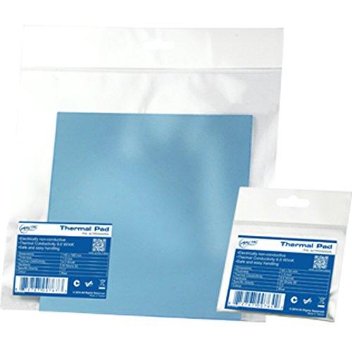 ARCTIC Thermal Pad (50 x 50 x 1.5 mm) - Compresse thermique à base de silicone avec 6,0 W/mK de conductivité thermique et une dureté exceptionnellement faible