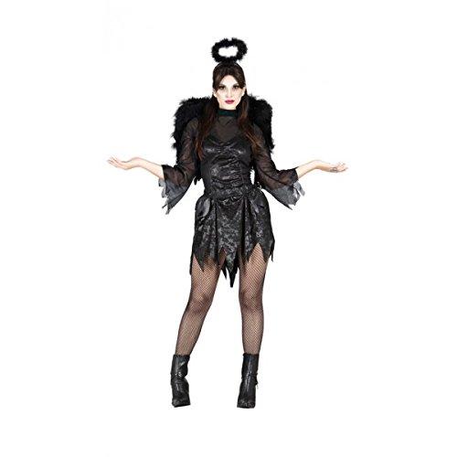 Kostüm von Engel caído Erwachsene Größe M (38-40)