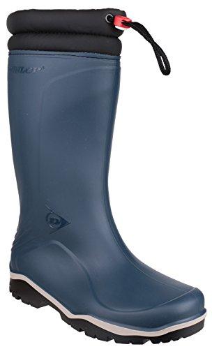 Dunlop Blizzard Unisex Gummistiefel (41 EU) (Blau/Schwarz) (Blau Planeten Kleidung)
