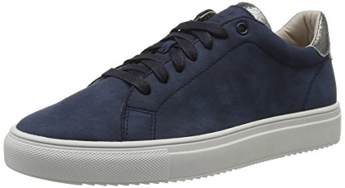 Esprit Sandrine, Sneakers Basses Femme Bleu (Navy 400)