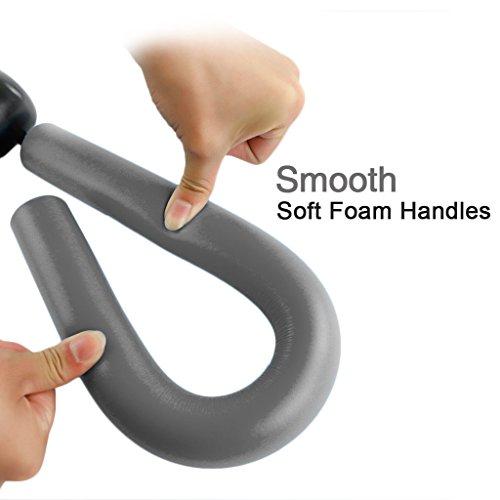 41b7ZFPLcqL - IVIM - Attrezzo per allenamento domestico, per muscolatura di cosce, petto e braccia