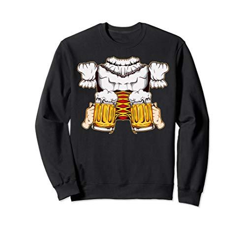 Girl Bierkrug Kostüm - Lustiges Dirndl Bayern Mädchen Oktoberfest Prost Trinkbier Sweatshirt