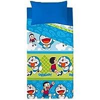 Euromoda Licencias Juego De Sábanas Doraemon & Nobita Azul 180 x 270 + 145 ...