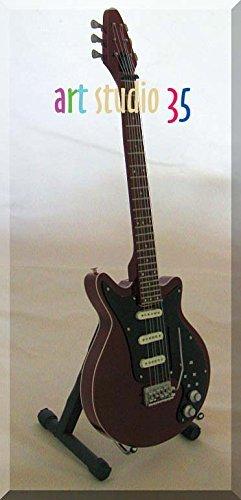 Brian May Burn Queen Guitarra en miniatura