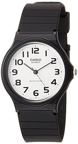 f8bb59a14daa CASIO 2729 MQ-24-7B - Reloj Caballero Cuarzo Correa Caucho Negro dial Blanco