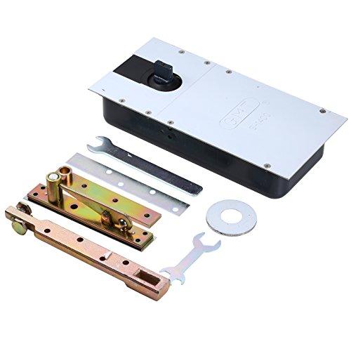 UHPPOTE GMT Heavy Zwei-Wege Typ Boden Frühling Glas Scharnier Schließer für maximale Tür Gewicht 150kg Breite 900-1150mm (Gmt Auto)