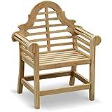 Lutyens Garden Armchair FULLY ASSEMBLED in Premium grade sustainable teak - Jati Brand, Quality & Value