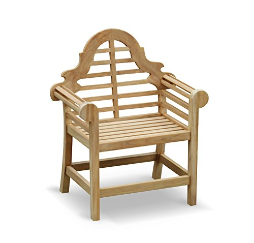 Lutyens Garden Armchair FULLY ASSEMBLED in Premium grade sustainable teak - Jati Brand, Quality & Value