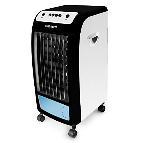 OneConcept CarribeanBlue Blueline Edition • Rafraîchisseur d'air • 3 en 1 • Ventilateur 3...