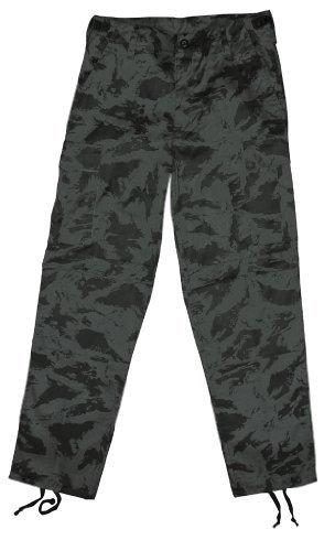 Pantaloni tipo militare McAllister Us pantaloni Cargo Russian Night Camo taglia M